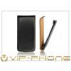 Haffner Slim Flip bőrtok - HTC One Max - fekete