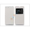 Haffner Sony Xperia M5 (E5603/E5606/E5653) S-View Flexi oldalra nyíló flipes tok - fehér
