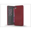 Haffner Sony Xperia X Performance (F8132) szilikon hátlap - Jelly Bright 0,3 mm - burgundy