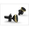 Haffner Univerzális szellőzőrácsba illeszthető mágneses PDA/GSM autós tartó - állítható fejjel - gold