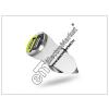 Haffner USB Dual micro szivargyújtó töltő adapter - 5V/1A+2,1A - fehér