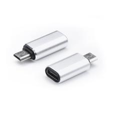 Haffner USB Type-C - micro USB adapter - ezüst mobiltelefon kellék