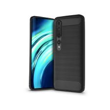 Haffner Xiaomi Mi 10 szilikon hátlap - Carbon - fekete tok és táska