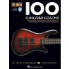 HAL LEONARD 100 Funk/R&B Lessons Bass