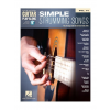 HAL LEONARD Guitar Play-Along Volume 74: Simple Strumming Songs