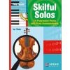 HAL LEONARD Skilful Solos Viola and Piano