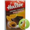 HALTER Cukormentes Cukorka Narancs-Csoki 36 g