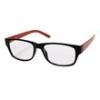 Hama 96268 olvasószemüveg, műanyag, +2,5 dpt, fekete/piros