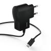 Hama Hálózati töltő Micro USB 1A fekete