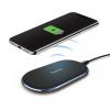 Hama QI Farbic Wireless phone charger 2A Black