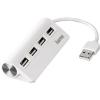 Hama USB 2.0 4 port Fehér