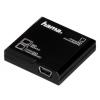 Hama USB 2.0 SDXC kártyaolvasó STICK, FEKETE