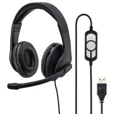 Hama USB-300 PC (139924) fülhallgató, fejhallgató