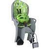 Hamax Kiss Gyerekülés kerékpár vázra + Sisak #zöld