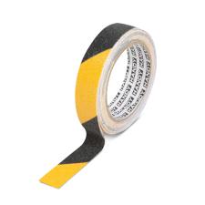 Handy Ragasztószalag - csúszásmentes - 5 m x 25 mm - sárga / fekete (Ragasztószalag) ragasztószalag