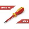 Handy Tools Handy csavarhúzó (10567), PH1, 80mm, 1000V-ig szigetelt, mágneses fej