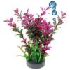 Happet levegőporlasztós bordó műnövény akváriumba