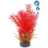 Happet levegőporlasztós vörös műnövény akváriumba