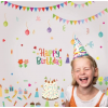 Happy Birthday foszforeszkáló falmatrica