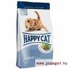 Happy Cat Fit & Well Junior macskatáp 1,4 kg +300g+táptartó doboz