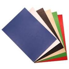 Hátlap RECO A/4 250 g/m2 bőrutánzatú nyomattal zöld 100 db/csomag mappa