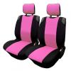 HD Üléshuzat univerzális betétes fekete-rózsaszín első ülésekre