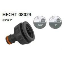 Hecht 08023 locsoló tömlővég csatlakozó 34 + 1 öntözéstechnikai alkatrész