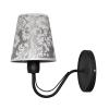Helam Fali lámpa MALBO II 1xE27/60W/230V fekete