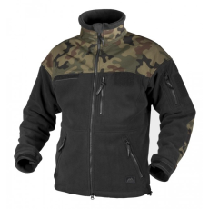 HELIKON-TEX Helikon Infantry polár dzseki, fekete woodland, 330g/m2