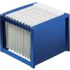 HELIT Függőmappatároló,műanyag,HELIT,kék
