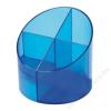 HELIT Írószertartó 4 részes HELIT Economy áttetsző kék (INH6390230)