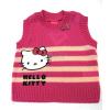 Hello Kitty lány baba és gyerek csíkos kötött mellény (méret:74-134)