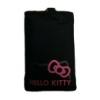 Hello Kitty Pastel álló neoprén tok fekete (HKPOFLP1B)*