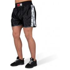 HENDERSON MUAY THAI/KICKBOXING SHORTS - BLACK/GRAY (BLACK/GRAY) [XS] férfi nadrág