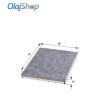 HENGST E900LC pollenszűrő (aktív szenes)