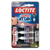 "HENKEL Pillanatragasztó gél, 3 x 1 g, HENKEL ""Loctite Super Attak Mini Trio PowerFlex Gel"""
