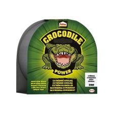 """HENKEL Ragasztószalag, 48 mm x 20 m, HENKEL """"Pattex Crocodile"""", ezüst ragasztószalag és takarófólia"""