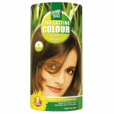 HennaPlus hajfesték 5. világosbarna hajfesték, színező
