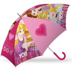 Hercegnők Gyerek félautomata esernyő Disney Princess, Hercegnők Ø84 cm