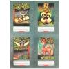 Herlitz : erdőlakók sima füzet - A5, 20-40, többféle