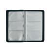 Herlitz Hungária Kft. Herlitz Névjegykártyatartó műbőr  fekete  96 kártyához