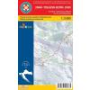 HG 14 - Dinara-Traglavska Skupina (Nyugat) turistatérkép - Hrvatska Gorska