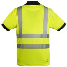 HI-VÍZ Hi-viz fényvisszaverő póló sárga, L (70271)