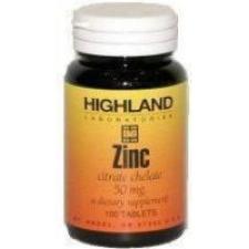 Highland zinc tabletta táplálékkiegészítő