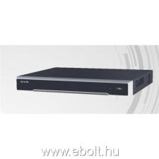 Hikvision DS-7608NI-I2/8P NVR, 8 csatorna, 80Mbps rögzítés, H.265, HDMI+VGA, 2xUSB, 2x Sata, I/O, 8x PoE port biztonságtechnikai eszköz