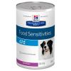 Hill's Prescription Diet 24x370 g Hill's Prescription Diet Canine d/d Allergy & Skin Care nedves kutyatáp - lazac