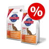 Hill's Science Plan Hill's Feline gazdaságos dupla csomag - Mature Adult 7 + Light csirke (2 x 1,5 kg)