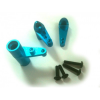 Himoto Alu karok servo saver, kék, 1 szett