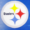 Hímzett Pittsburgh Steelers logó