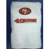 Hímzett San Francisco 49ers törölköző
